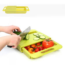 3 in 1 over the sink cutting board cutting board colander