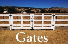 brown vinyl horse fence. We Custom Fabricate Gates Of All Sizes Shapes, \u0026 Dimensions. Brown Vinyl Horse Fence