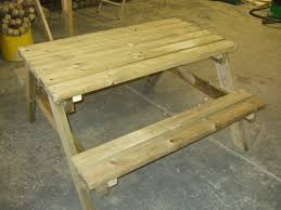 4 seat picnic bench seat pub garden table