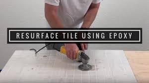 resurface your old tile countertops with metallic diy kits