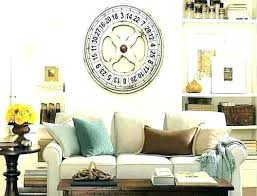 Decorating A Large Living Room Amazing Decorating With Wall Clock Collection Of Large Clocks Decor Lovely