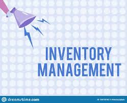 Word Inventory Word Writing Text Inventory Management Business Concept For