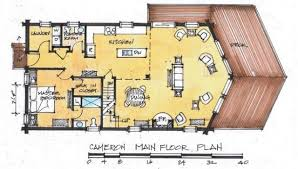 Estemerwalt Log Homes Plan 7