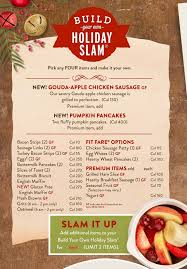Holiday Menu Dennys Holiday Menu Is Here The Simple Parent