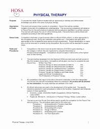 Physical Therapy Resume Sample Beautiful Physical Therapist Resume