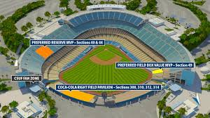 Dodger Stadium Seating Chart 2019 Dodgers Night Alumni Csuf
