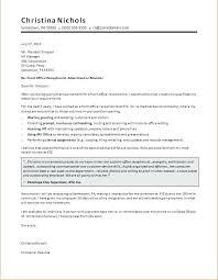 Sample Cover Letter For Receptionist Job Receptionist Cover Letter