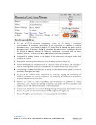2 of 6 3 - Sample Resume For Document Controller