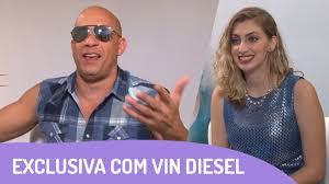 Vin Diesel creeps towards Brazilian reporter as he flirts during. Vin Diesel creeps towards Brazilian reporter as he flirts during awkward interview Daily Mail Online