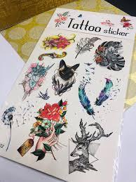 тату 3d временные татуировки для детей и взрослых