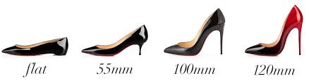 Christian Louboutin Size Chart Reviews Whats The Difference Christian Louboutins Pigalle