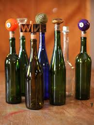 How To Make Decorative Wine Bottle Stoppers Found Object Wine Stoppers HGTV 2
