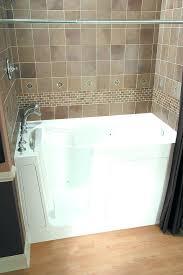 walk in bathtub and shower walk in tub shower combo canada