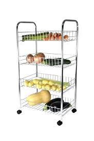 kitchen vegetable rack chrome kitchen fruit vegetable rack on wheels storage stand cart trolley kitchen kitchen kitchen vegetable rack multipurpose