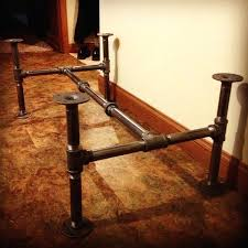 Black Plumbing Pipe Furniture Industrial Pipe Furniture Home Design ...