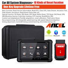 <b>ANCEL X6</b> WiFi <b>OBD2</b> Diagnostic Scanner ABS SRS EPB DPF Oil ...