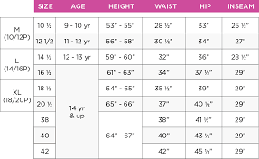 Little Girls Size Chart 45 Ageless Girls Vs Juniors Size Chart