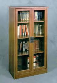 bookcases with glass doors white bookcase intended for book shelf decor 16