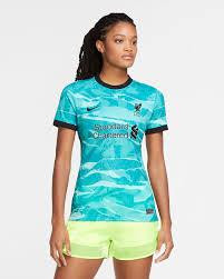 Liverpool nike 2020/21 away replica jersey. Liverpool Fc 2020 21 Stadium Away Women S Soccer Jersey Nike Com