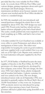 pashley post office bicycle museum of tradesman s delivery  po history copy2