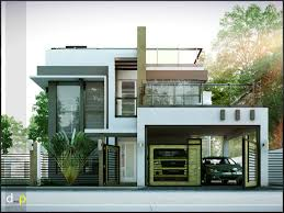 4 Storey House Design With Rooftop 2 Storey Residence With Roof Deck 2 Storey House Design