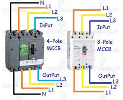 3 wire breaker diagram wiring diagram load how to wire mccb circuit breakers 3 pole and 4 pole electricity 3 wire 220v gfci breaker wiring diagram 3 wire breaker diagram