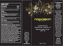 napoleon perdis advanced mineral makeup broad spectrum spf 15 look 3