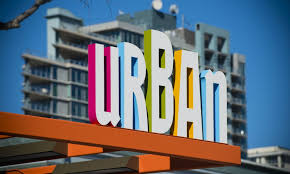 Exterior Signage Design Delectable The Main Identity Sign Employs Its Cityscapeinspired Logomark