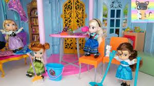 Đồ chơi trẻ em BÚP BÊ TIÊN CÁ Công Chúa Disney Rapunzel - Frozen Elsa Anna  - CÔ BÉ LỌ LEM - Tập 1 - YouTube