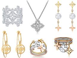 louis vuitton jewelry. louis vuitton\u0027s iconic monogram jewellery collection vuitton jewelry i