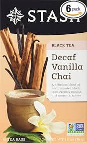 Stash Tea Decaf Vanilla Chai Tea, Individual ... - Amazon.com
