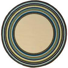 round outdoor rugs. Caspian 1003X Round Outdoor Rug Rugs G