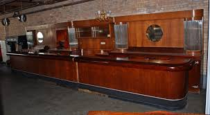 Art Deco Front And Back Bar