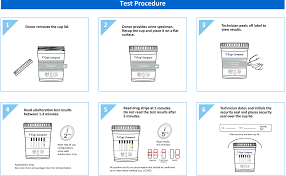 5 Panel Compact T Cup Multi Drug Urine Test Cdoa 254 25 Box