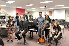 summit h s alum and member of lady a s band visits