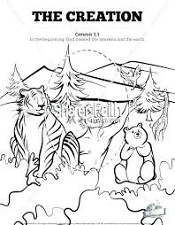 Sunday School Coloring Pages School Coloring Pages The Creation