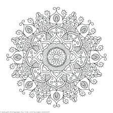 Animal Mandala Coloring Sheets Round Mandala Coloring Pages Animal