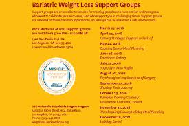 weightloss group usc bariatric weight loss support group keck medicine of usc