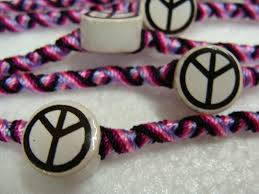 peace symbol friendship bracelets pack of 12 units gifts s teams whole