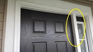 pella front doorsPella storm door doesnt fit new construction home front door