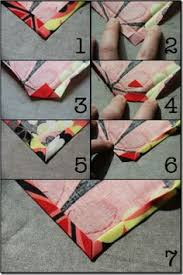 The Best Way To Sew Bias Tape With Mitered Corners {photos plus a ... & Simple Cloth Napkins - Mitered Corners - Crafty Staci 4 Adamdwight.com