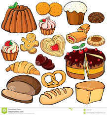 Collection Of 14 Free Sweet Clipart Baked Goody Amusement Clipart