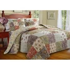 Quilts & Bedspreads For Less   Overstock.com & Greenland Home Fashions Blooming Prairie 3-piece Bedspread Set Adamdwight.com