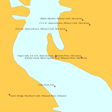 Delaware River Tide Chart Artificial Island Salem Nuclear Plant Delaware River New