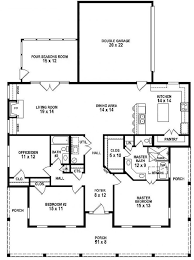 images about dreamm homeee   lt  on Pinterest   Floor Plans        Bedroom Bath Southern Style House Plan   wrap
