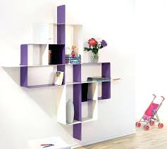 funky wall shelves modern wall shelving unit in purple black and white funky wall shelves uk