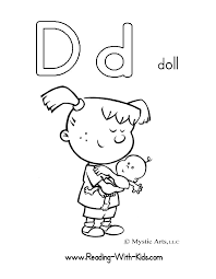 Small Picture Free d coloring page free coloring pages of le letter d