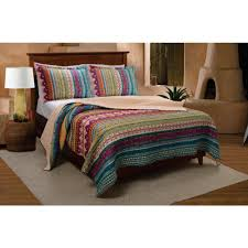 greenland home fashions southwest 3 piece multi king quilt set