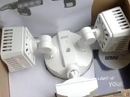 sansi led security motion sensor