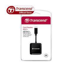 Đầu đọc thẻ nhớ Transcend USB Type-C OTG TS-RDC3K | Memoryzone -  Professional in memory